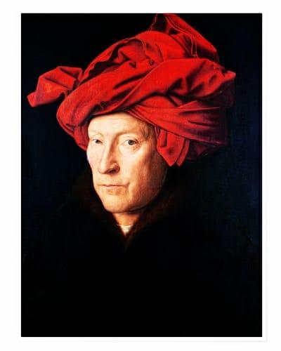 Van Eyck uomo con turbante
